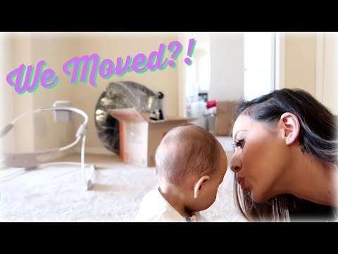 Moving with a baby|| VLOG || Chanelle & Harlow
