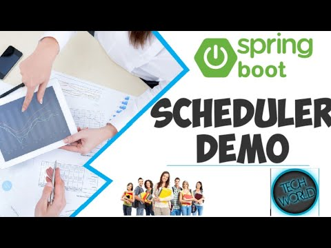 Spring boot scheduler tutorial and demo in sts
