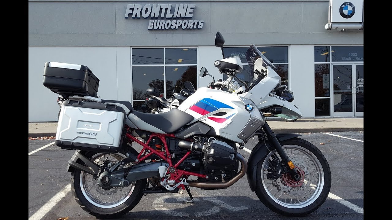 2012 Bmw R1200gs Rally With Excel Wheels And Panniers Walk Around Frontline Eurosports Youtube