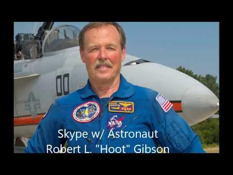 Skype w/ Astronaut Hoot Gibson, July 8, 2017