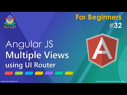 AngularJS UI-Router: Multiple and Simultaneous Views