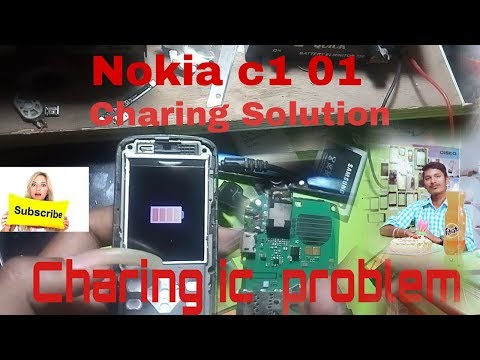 Nokia c1 01 Charing ic Solution 100%working