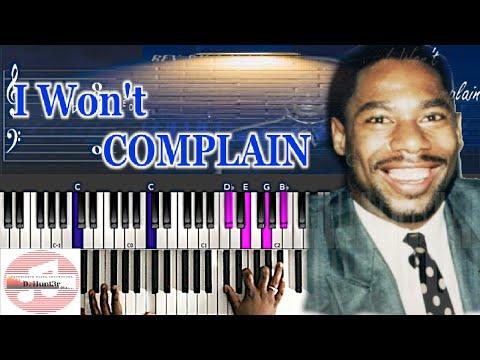 *Easy* Rev. Paul Jones - I Won't Complain 🎹 Tutorial thumbnail