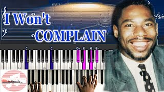 *Easy* Rev. Paul Jones - I Won't Complain 🎹 Tutorial