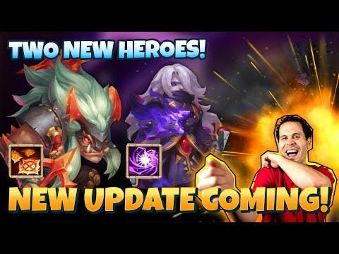 New Update Explained TWO New Heroes Castle Clash