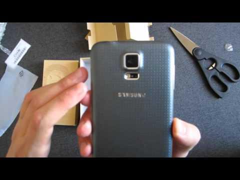 Samsung Galaxy S5 оригинал из китая, шок! Обзор-распаковка + мнение [1080p FullHD]