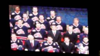 Columbus Blue Jackets 2010 Starting Lineup