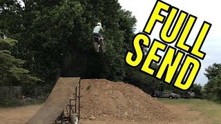NO drugs can get you this HIGH! / HITTING FMX RAMP FIRST TIME!