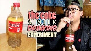 COKE & MILK DRINKING EXPERIMENT!