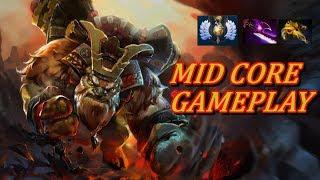 MID LANE CORE EARTHSHAKER! | Dota 2 Gameplay Commentary