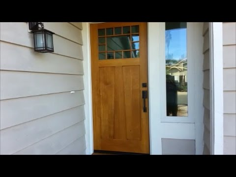 Exterior Door Construction Design And Assembly Youtube
