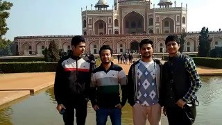One of the beautiful place to visit in Delhi Humayun Tomb