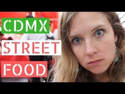 MEXICO CITY STREET FOOD (Gringos Explore Tianguis) // Gringos in Mexico City Vlog