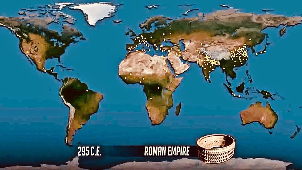 Amazing Animated World Map Of Population Growth Last 2 000 Years