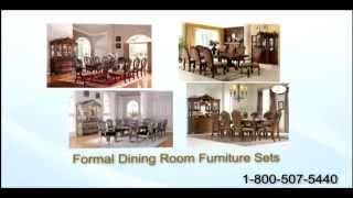 Affordable Round Glass Dining Room Tables | Efurniturehouse.com Has Dining Room Furniture Sets