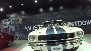1966 SHELBY GT350 Mustang Countdown LA AUTO SHOW 2013 Live LOOXCIE!