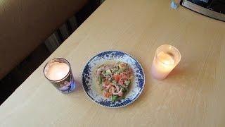 Ко Дню Святого Валентина:Салат с тунцом и зелёной фасолью.(Совместное видео)