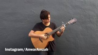 Adele - Million Years Ago - Anwar Amzah (cover) guitar fingerstyle