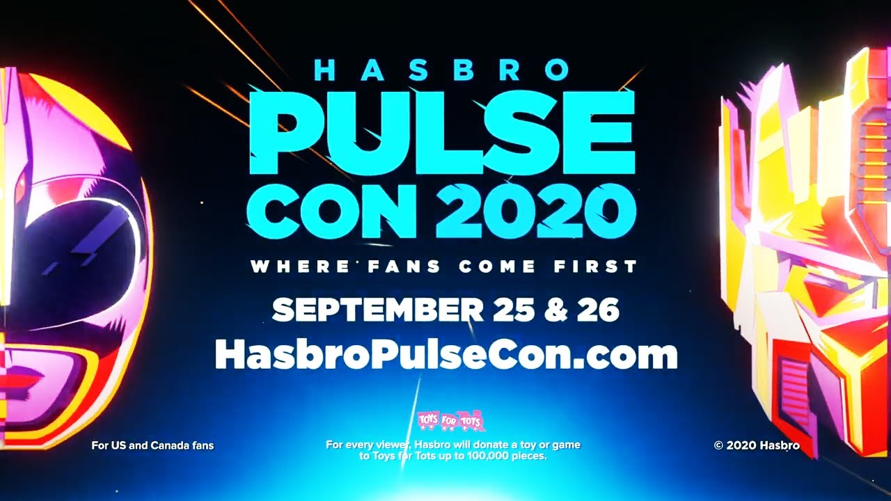 Hasbro PulseCon 2020 Press Release - Guest Announcements and More!