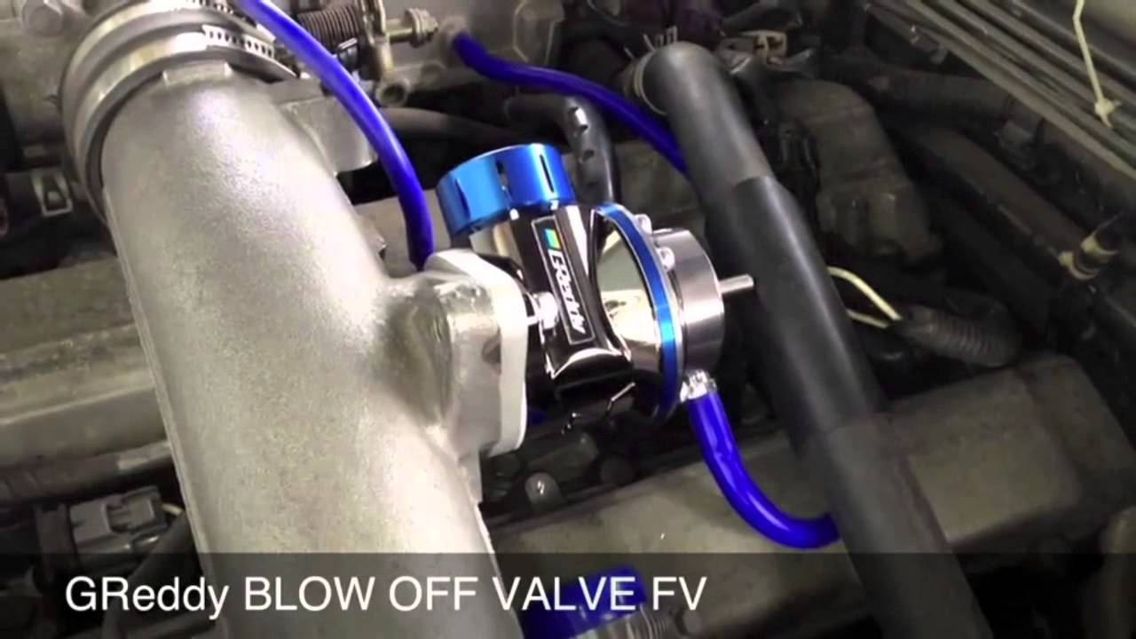 greddy blow off valve fv youtube