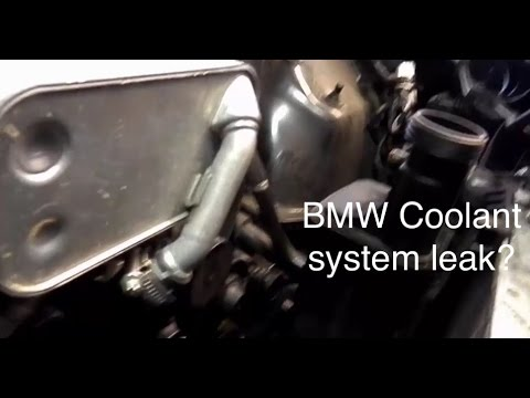 2008 BMW X3 E83 coolant tank replacement - NO LEAKS! - YouTube