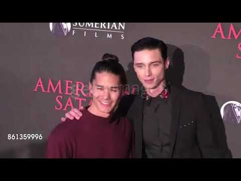 Andy Biersack At The Premiere For 'American Satan' Part 2
