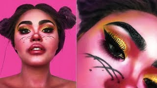 figcaption Pink Panther's Mistress| Easy Halloween Tutorial | KennieJD