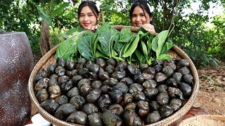 Sweet Snail Curry With Noni Leaves Recipe - Cooking Snails - My Food My Lifestyle