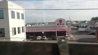 JR四国N2000系うずしお6号 徳島発車