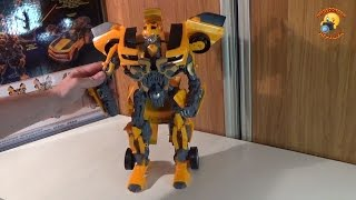 Большой трансформер Бамблби игрушка Big Transformer BumbleBee(Обзор игрушки . Игрушка предоставлена интернет магазином
