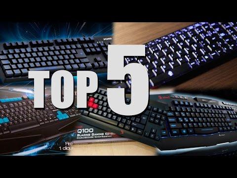 TOP 5 teclado GAMER barato 2015 (até 100 reais)