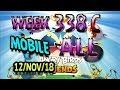 Angry Birds Friends Tournament All Levels Week 338 C MOBILE Highscore POWER UP Walkthrough mp3