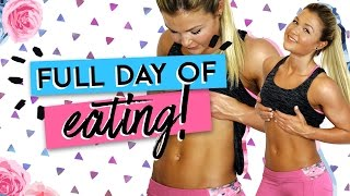 Mein FITNESS FULL DAY OF EATING | VLOG | Sophia Thiel