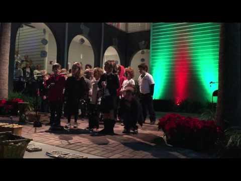 Jingle bells at Winter Fest in Maitland Montessori School in 2014