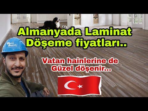 Almanyada  yaşam  Laminat kaç EURO ya döşenir.. VATAN hainlerine bedava döşenir.. Ahmet Eroğlu farkı
