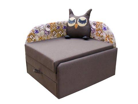 Детский диван Сова - Мебельная фабрика Вика