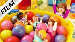 Playmobil Film deutsch | RIESEN BÄLLEBAD IN KITA - Emmas Spielparadies | Kinderfilm Familie Vogel