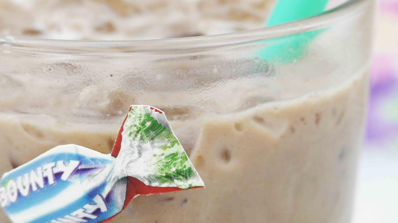 bounty ice drink kakao kokos getr nk selber machen coolen milkshake mixen youtube. Black Bedroom Furniture Sets. Home Design Ideas