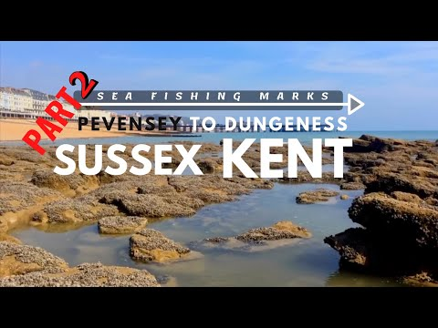 Part 2/2. Sea Fishing Marks Pevensey To Dungeness.