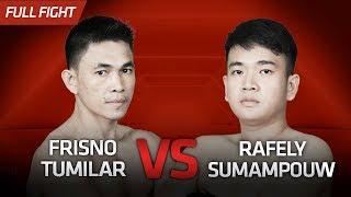 Frisno Tumilar vs Rafely Sumapouw || One Pride Pro Never Quit #27
