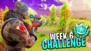 Week 6 Battle Pass Challenge LOCATION! (Search Between A Metal Bridge) - Fortnite: Battle Royale