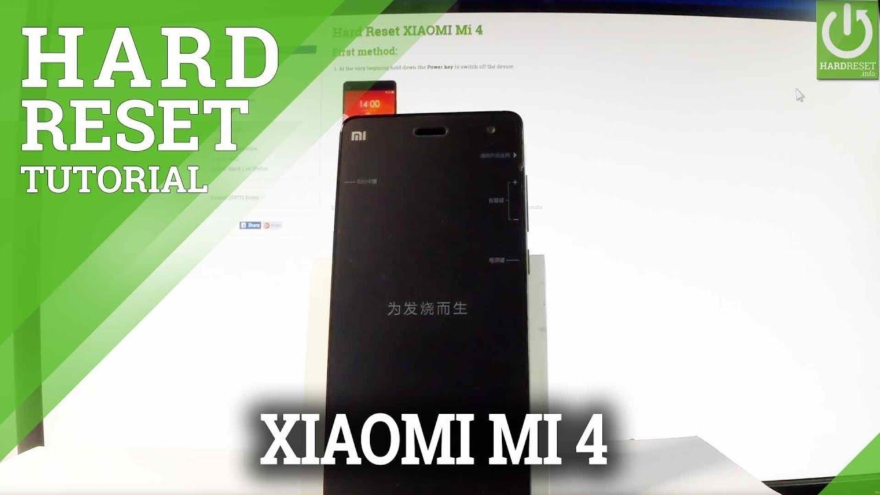 Hard Reset XIAOMI Redmi Note 5 Pro - HardReset info