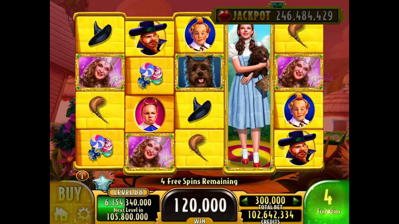Wizard Of Oz Slot Game
