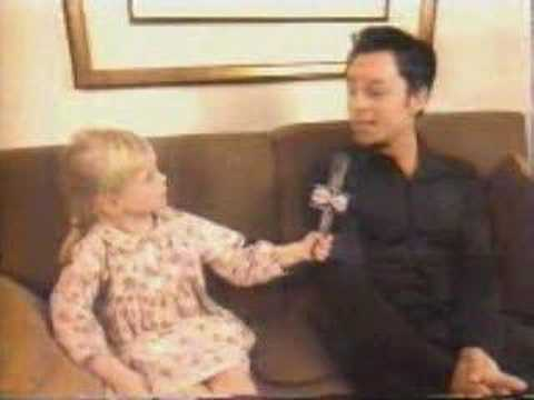 Darren Hayes Kidspeak Interview (adorable!)