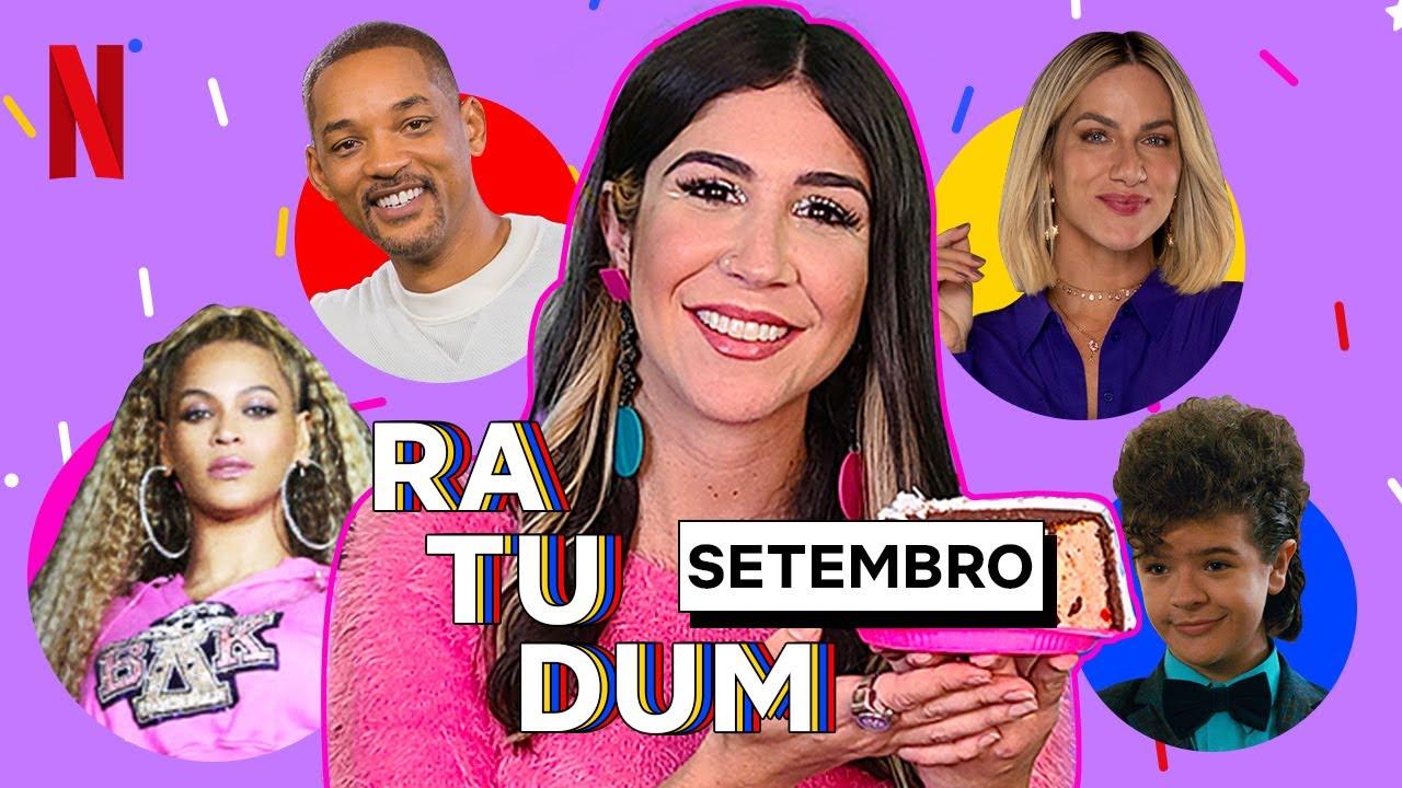 Foquinha revela os aniversariantes de setembro! | RA-TU-DUM! | Netflix Brasil