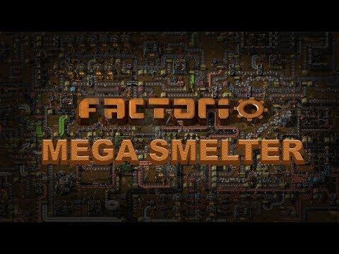 MEGA SMELTER   Factorio #2