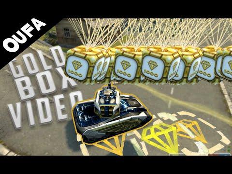 Tanki Online Gold Box Video #22 by Oufa