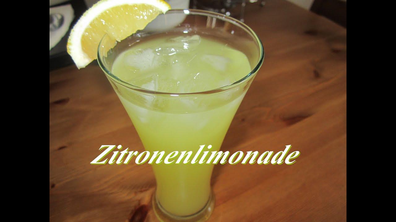 limonade selber machen zitronenlimonade rezept. Black Bedroom Furniture Sets. Home Design Ideas
