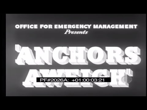 U.S. NAVY THEME SONG Anchors Aweigh SUNG BY CONRAD THIBAULT