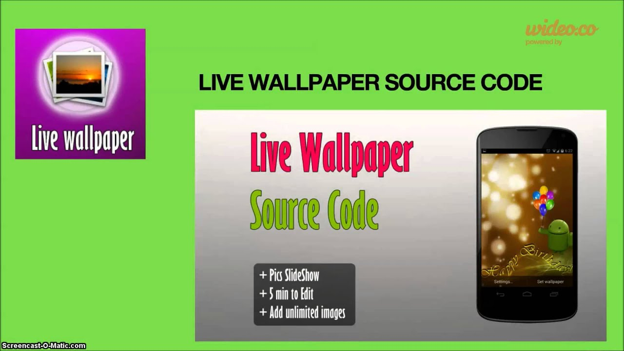 android live wallpaper source code
